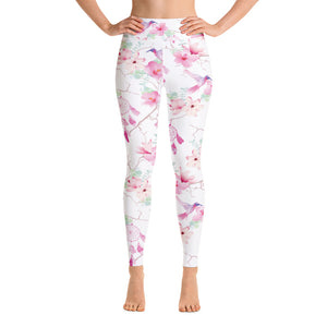 Hummingbird Dreams Yoga Leggings