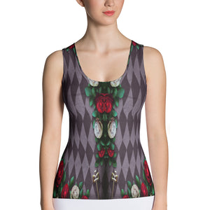 Illusion of Time and Roses Tank Top