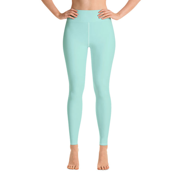 Pastel Green Yoga Leggings