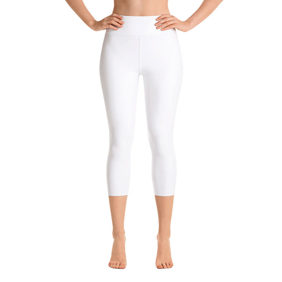 Bright White Capri Leggings