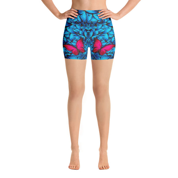 Butterfly Spirit Yoga Shorts