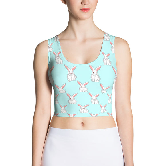 White Rabbit Crop Top