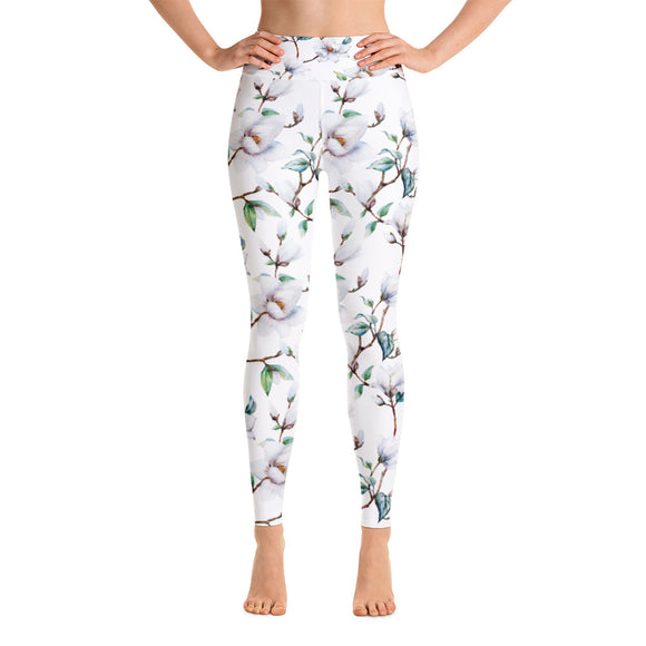 Gardenia Yoga Leggings