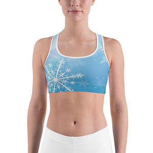 Snowflake Spectrum Sports bra