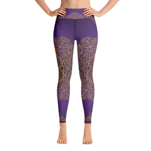Royal Purple Yoga Leggings