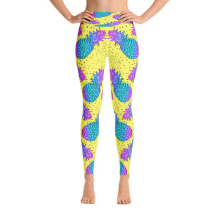 Pineapple Passion Yoga Leggings