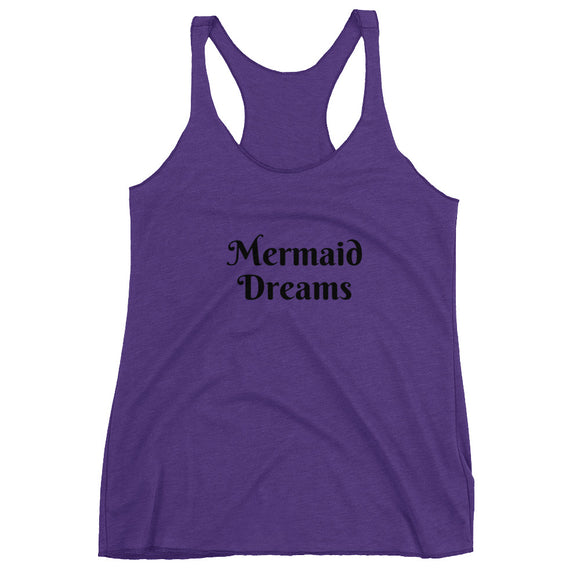 Mermaid Dreams Women's Racerback Tank