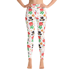 We're All Mad Here Yoga Leggings