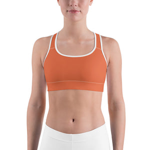 Burnt Orange Sports Bra