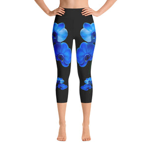 Blue Orchid Capri Leggings