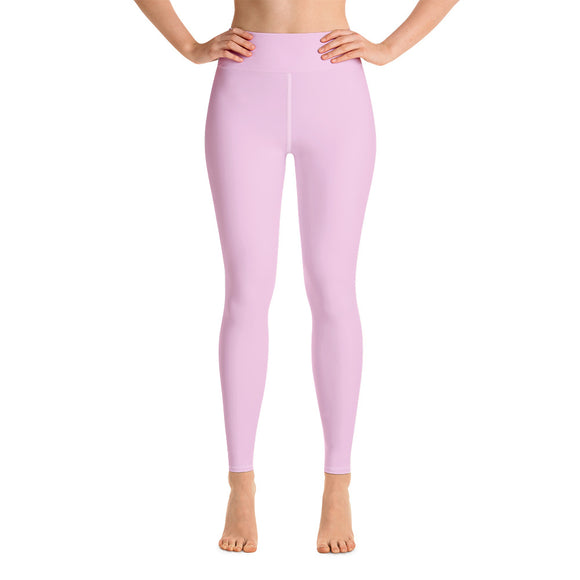 Pastel Pink Yoga Leggings