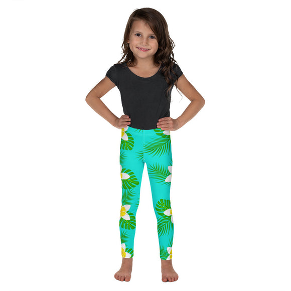 Hawaiian Girl Kid's Leggings