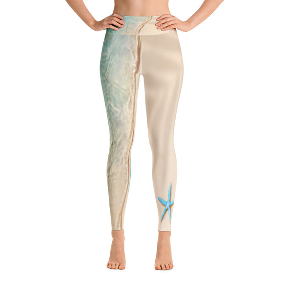 Starfish Paradise Yoga Leggings