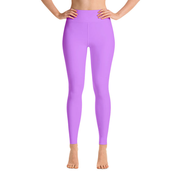 Lovely Lavender Yoga Leggings