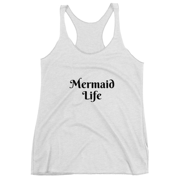 Mermaid Life Women's Racerback Tank