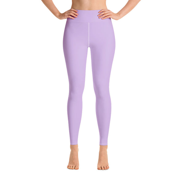 Pastel Purple Yoga Leggings