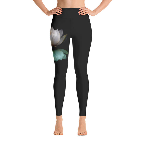White Lotus Yoga Leggings