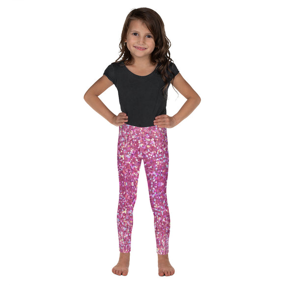 Pink Confetti Kid's Leggings