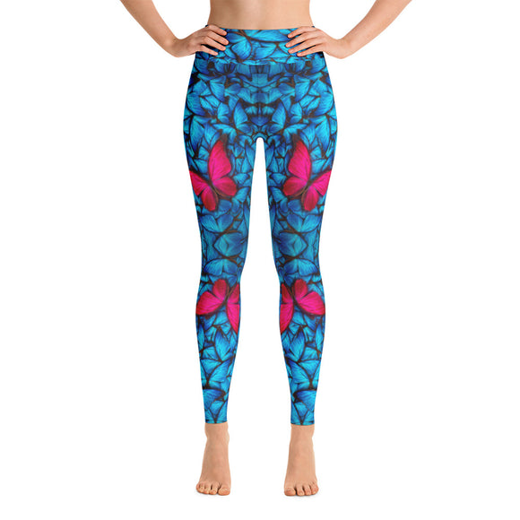 Butterfly Spirit Yoga Leggings
