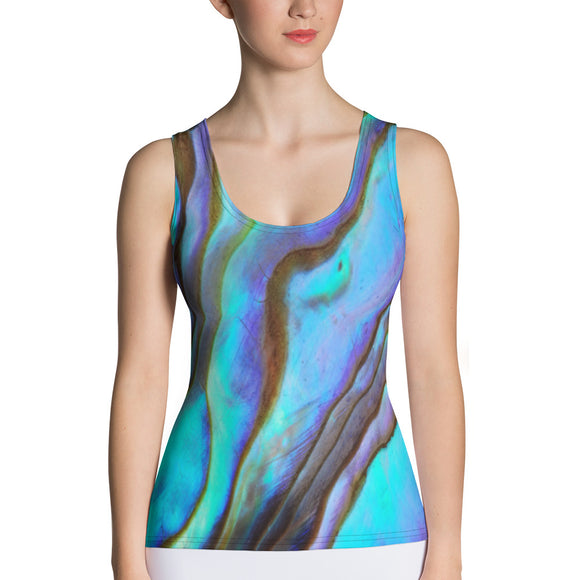 Azure Abalone Tank Top