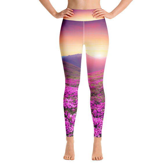 Blooming Spring Yoga Leggings