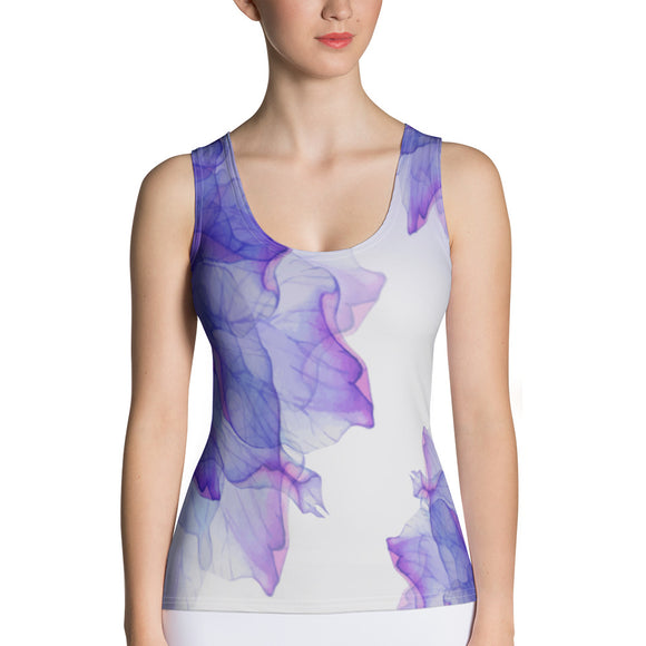 Watercolor Bloom Tank Top