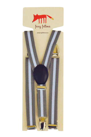 Kensington Stripes Suspenders