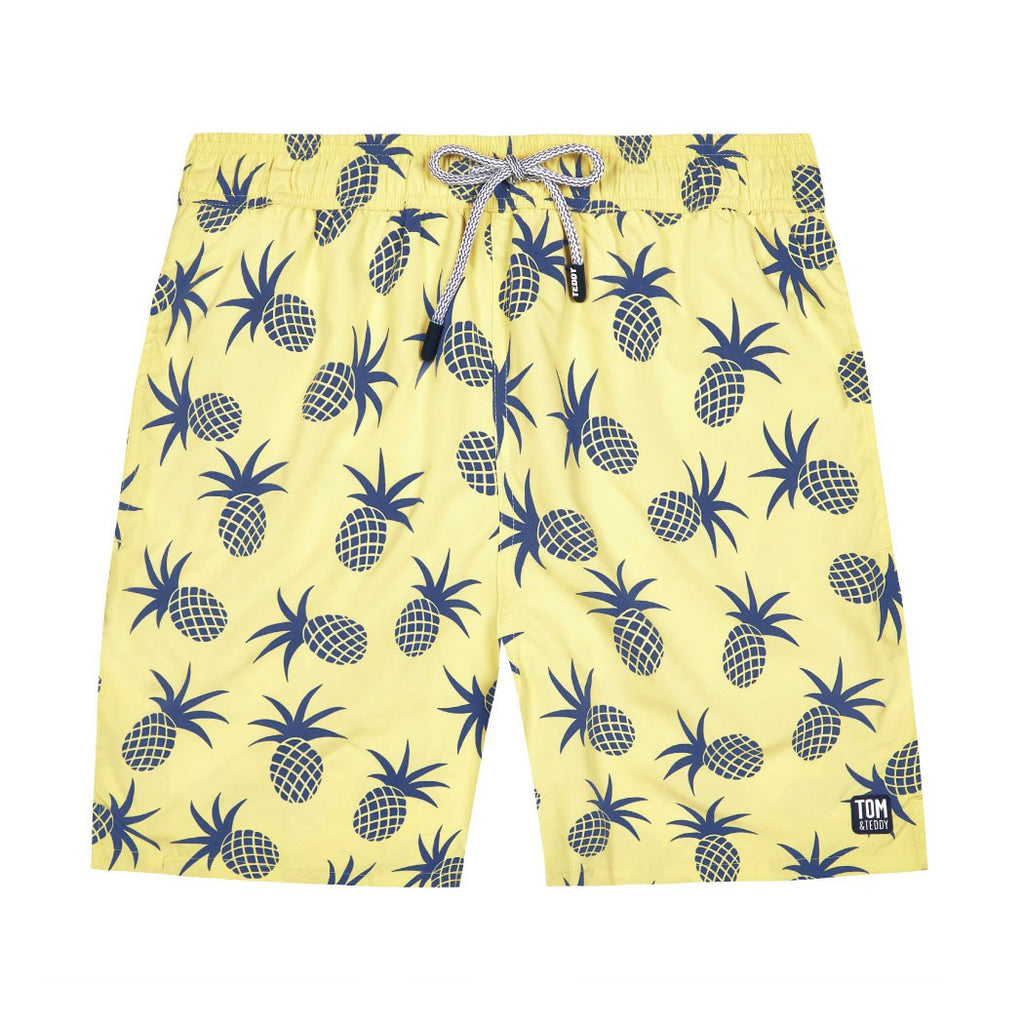 Yellow & Blue Pineapple