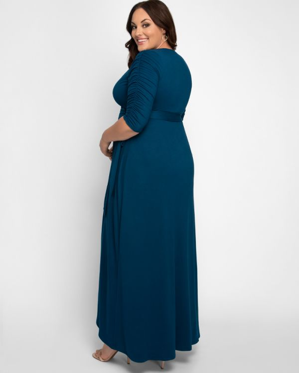 Meadow Maxi Dream Dress in Teal Topaz