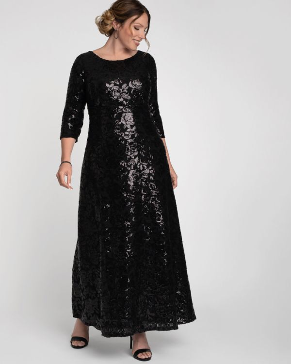 Socialite Sequin Gown