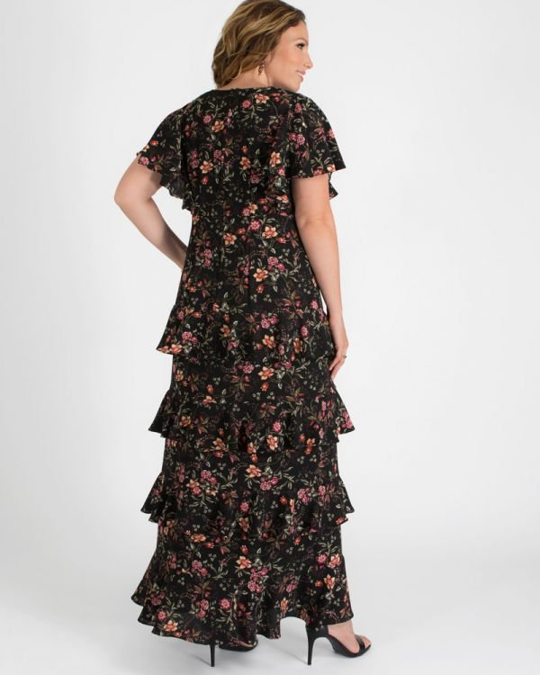 Tour De Flounce Maxi Dress