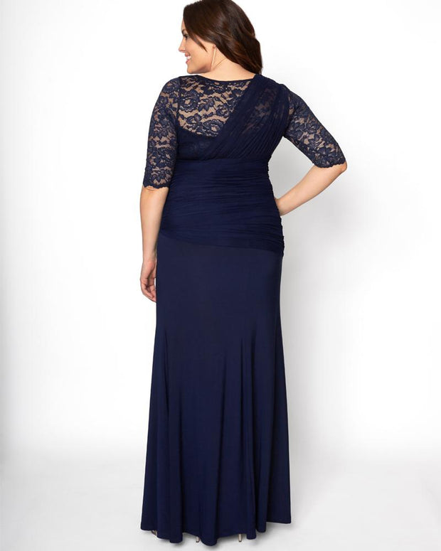 Plus Size Soiree Evening Gown