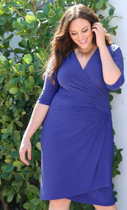 plus size flattering dress