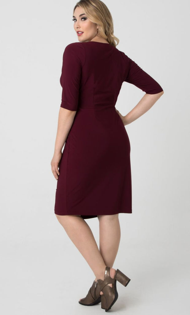 plus size wrap dresses Australia