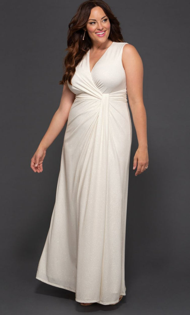 Gilded by Moonlight  Plus Size Wedding Gown