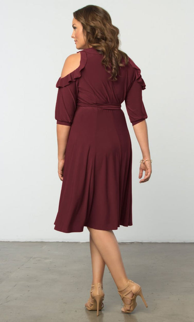 Cheap Plus Size Clothing Barcelona Wrap Dress