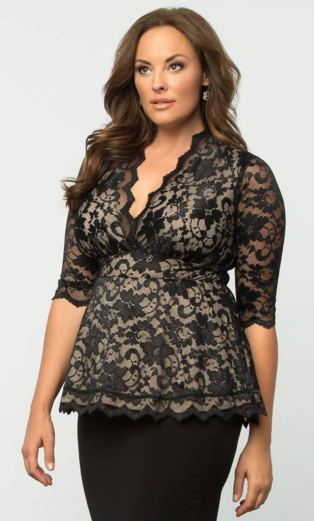 Linden Lace Top