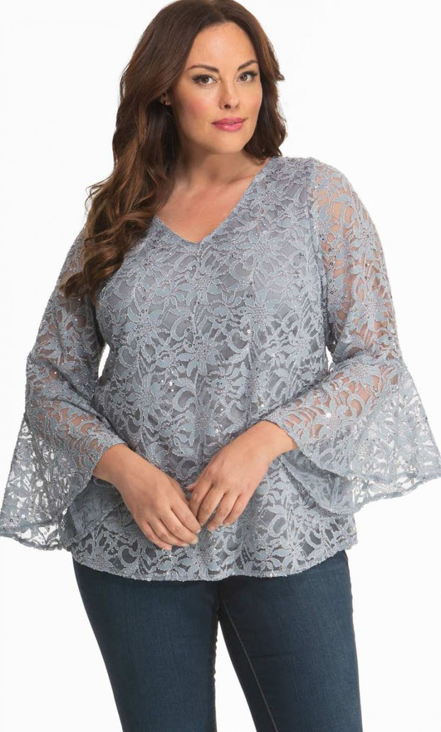 Savanna Sequin Lace Top