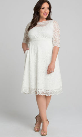 Pretty in Lace Wedding Dress