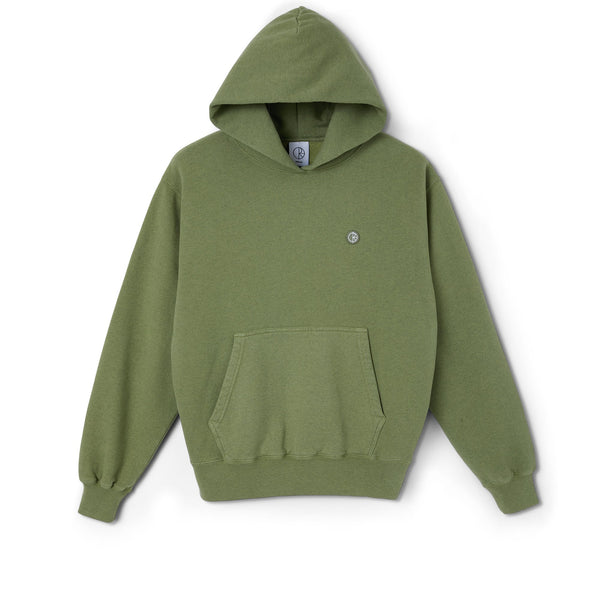 Patch Hoodie - Heather Green