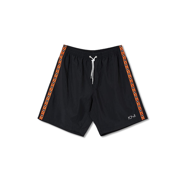Square Stripe City Swim Shorts