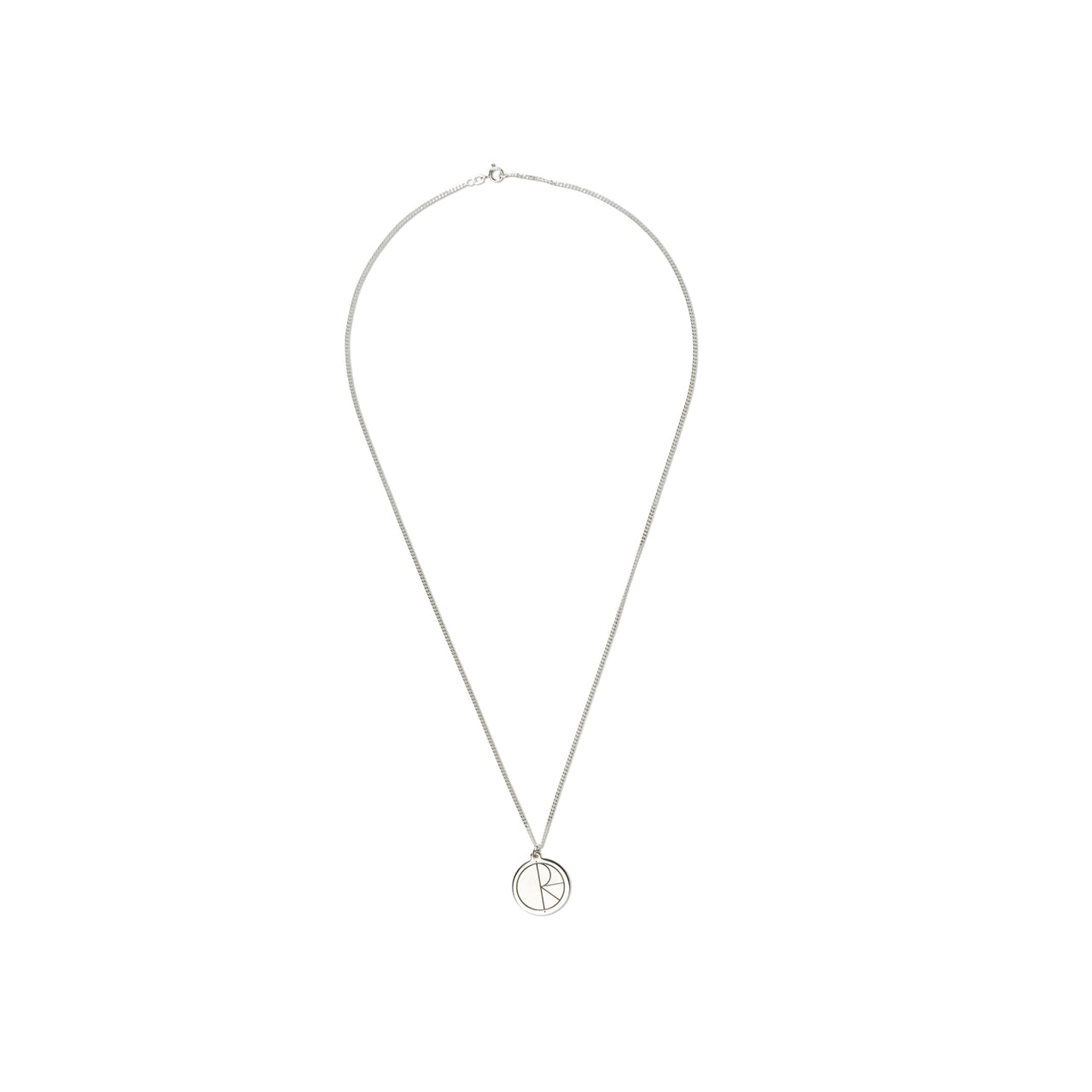 Stroke Logo Necklace - Sterling Silver