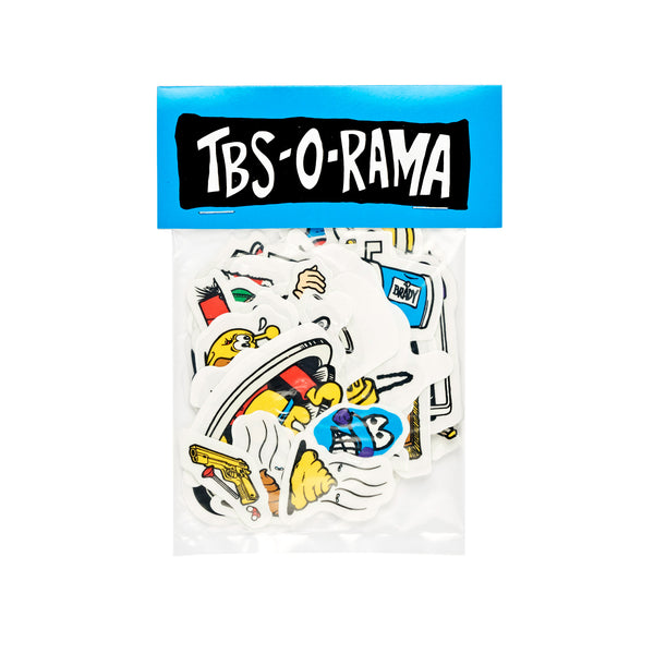 TBS-O-RAMA Sticker Sheet