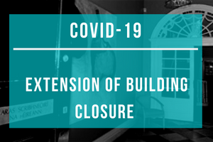 Covid-19: Extension of IWC Building Closure