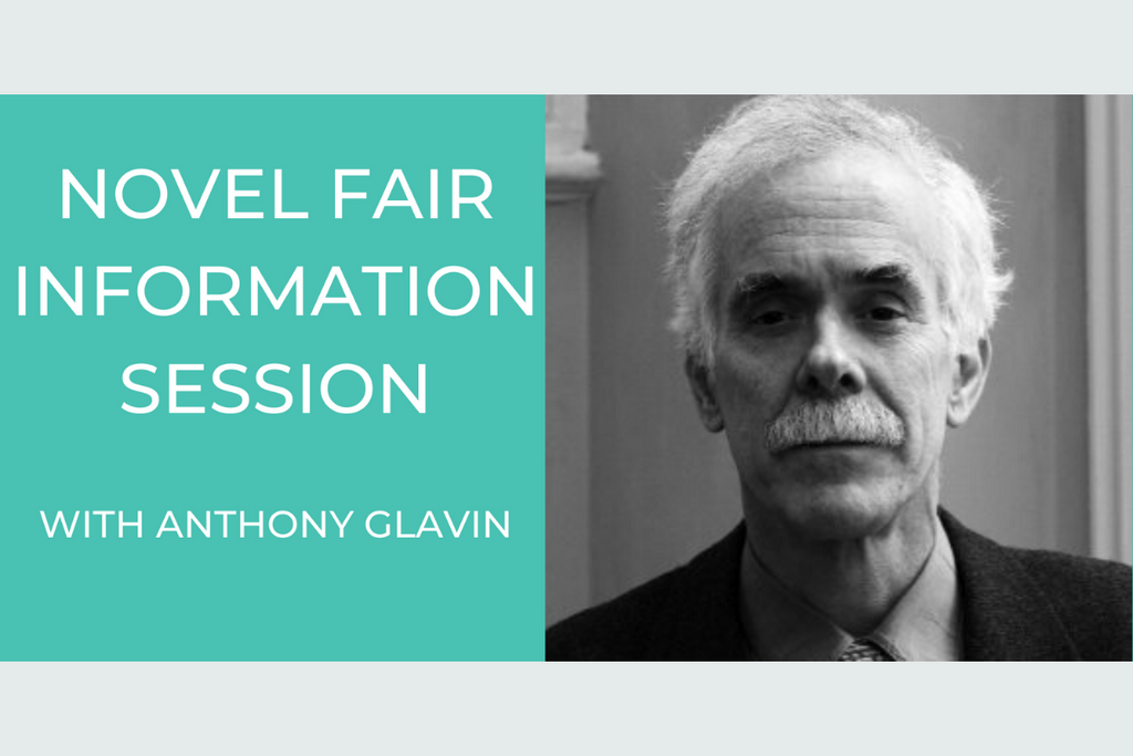 Novel Fair Information Session with Anthony Glavin