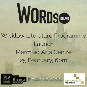 Launch of Wicklow Literature Programme with Words Ireland