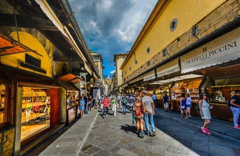 People shopping in florence