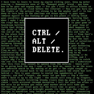 Book Launch: Ctrl/Alt/Delete by Natasha Helen Crudden