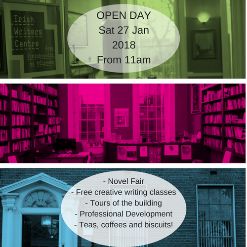 Open Day for Writers Irish Writers Centre Dublin