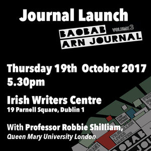 Journal Launch: Baobab Volume 3